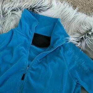 Blue Calvin Klein zip up